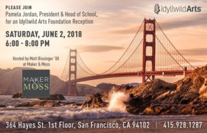 San Francisco: Idyllwild Arts Foundation Reception @ Maker & Moss | San Francisco | California | United States