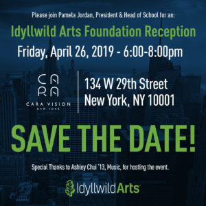 NYC Idyllwild Arts Foundation Reception @ Cara Vision